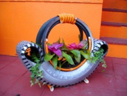 декорация в градината-цветарник