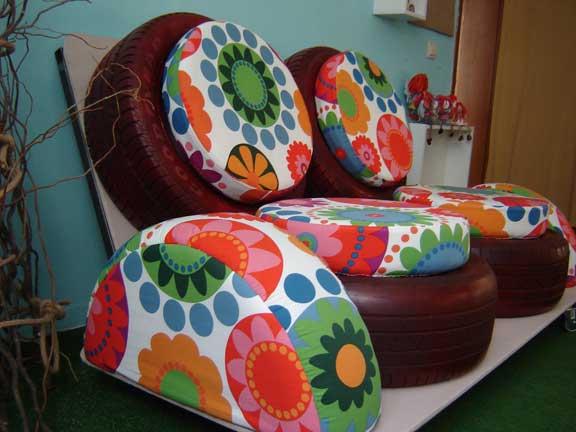 декорация в градината - място за почивка