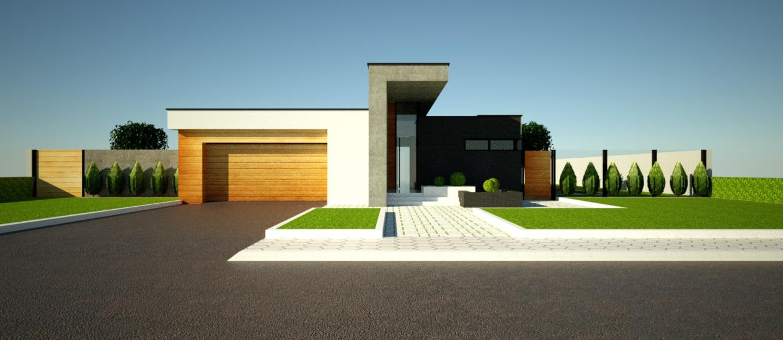 едноетажна еднофамилна къща