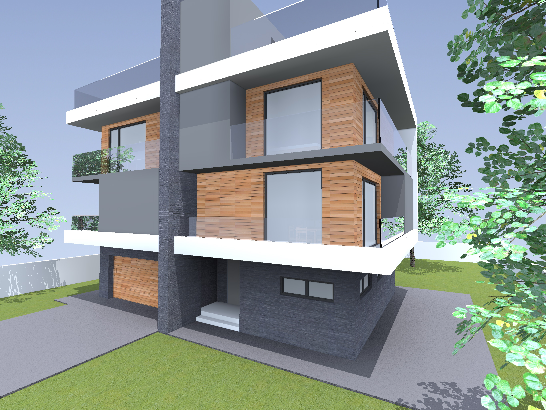 Триетажна еднофамилна къща