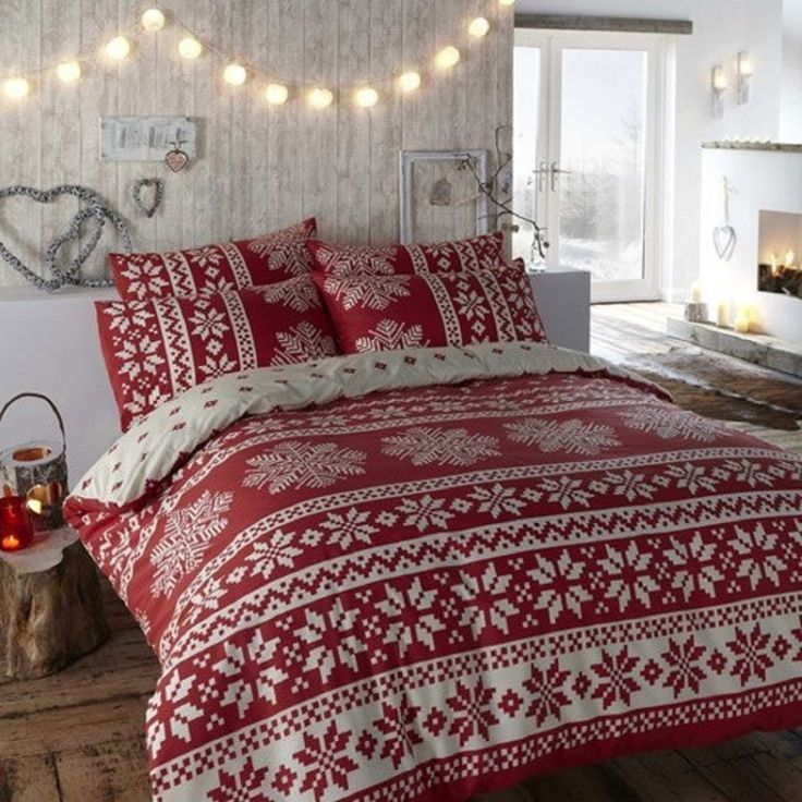 25+ Unique Christmas Bedroom Decorations Ideas On Pinterest | Christmas  Bedroom, Christmas Room Decorations And Christmas Bedding